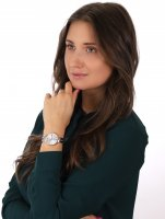 Rubicon RNBE31SISX03BX Bransoleta zegarek damski klasyczny szafirowe