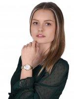 Rubicon RNBE32GISX03BX zegarek złoty klasyczny Bransoleta bransoleta