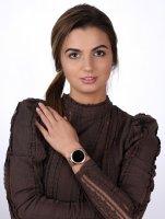 Rubicon RNBE45RIBX05AX Smartwatch Rubicon RNBE45 różowe złoto Smartwatch zegarek różowe złoto