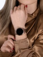 Rubicon SMARUB046 Smartwatch Rubicon RNBE37 PRO różowe złoto zegarek sportowy Smartwatch