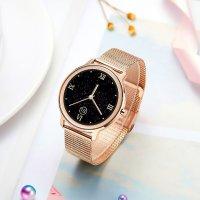 Rubicon SMARUB055 Smartwatch Rubicon RNBE66 różowe złoto Smartwatch zegarek