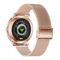 Rubicon SMARUB055 Smartwatch Rubicon RNBE66 różowe złoto zegarek Smartwatch