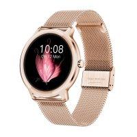 Rubicon SMARUB055 Smartwatch Smartwatch Rubicon RNBE66 różowe złoto