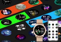 Rubicon SMARUB055 Smartwatch zegarek damski