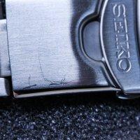 Seiko SNZG13K1-POWYSTAWOWY męski zegarek Sports Automat bransoleta