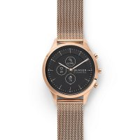 Skagen SKT3100 smartwatch różowe złoto klasyczny Jorn pasek