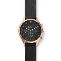 Skagen SKT3102 smartwatch różowe złoto klasyczny Jorn pasek