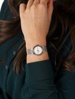 Skagen SKW2698 zegarek srebrny fashion/modowy Freja bransoleta