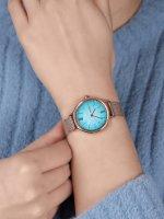 Skagen SKW2977 zegarek różowe złoto klasyczny Anita bransoleta
