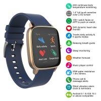 Strand S716USVBVL Smartwatch fashion/modowy zegarek różowe złoto