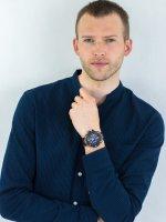 smartwatch niebieski sportowy Casio G-SHOCK G-STEEL GST-B100G-2AER pasek - duże 4