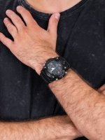 smartwatch G-Shock GG-B100-1BER Mudmaster Carbon Core Black Out męski z termometr G-SHOCK Master of G