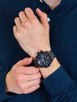 solar smartwatch męski Casio G-SHOCK G-STEEL GST-B100G-2AER - duże 5