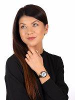 Anne Klein AK-3610GPBK zegarek damski Bransoleta