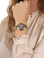 Anne Klein AK-3710PKGB damski zegarek Bransoleta bransoleta