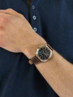 Citizen AW1573-11L męski zegarek Ecodrive pasek