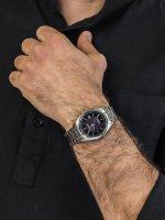 Citizen AS2050-87E męski zegarek Radio Controlled bransoleta