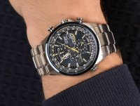 Citizen AT8020-54L SKYHAWK BLUE ANGELS RADIO CONTROLLED zegarek sportowy Radio Controlled