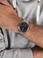 Pulsar PZ5101X1 zegarek srebrny sportowy WRC bransoleta