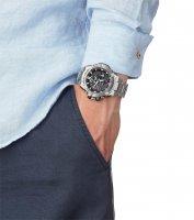 sportowy smartwatch srebrny Casio G-SHOCK G-STEEL GST-B100D-1AER G-STEEL BLUETOOTH SYNC - duże 4