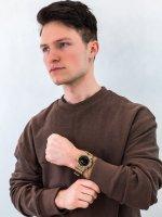 sportowy Zegarek beżowy Casio G-SHOCK Original GBD-800UC-5ER - duże 4