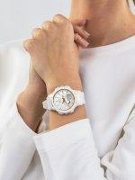 sportowy Zegarek biały Casio Baby-G BGS-100GS-7AER Baby-G Step Tracker - duże 5