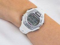sportowy Zegarek biały Timex Ironman TW5K89400 CLASSIC 30 - duże 6