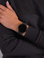 zegarek Garett 5903246282658 Smartwatch Garett Sport 24 czarny damski z krokomierz Damskie