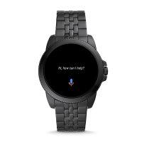 Fossil Smartwatch FTW4056 GEN 5E SMARTWATCH - BLACK STEEL Fossil Q sportowy zegarek czarny