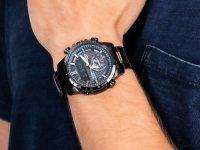sportowy Zegarek czarny Casio EDIFICE Premium ECB-800DC-1AEF BLUETOOTH SYNC LCD - duże 6