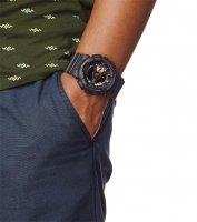 sportowy Zegarek czarny Casio G-SHOCK Style GA-110RG-1AER - duże 7
