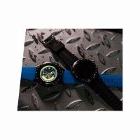 Garett 5903246287028 Smartwatch Garett Multi 4 Sport RT niebieski Męskie sportowy zegarek czarny
