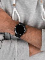 zegarek Garett 5903246287035 Smartwatch Garett Multi 4 Sport RT czarny męski z barometr Męskie