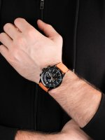 sportowy Zegarek czarny Lorus Sportowe RT327HX9 - duże 5