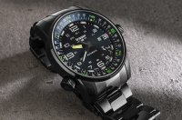 zegarek Traser TS-109522 automatyczny męski P68 Pathfinder Automatic P68 Pathfinder Automatic Black