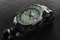 Traser TS-109525 zegarek czarny sportowy P68 Pathfinder GMT bransoleta