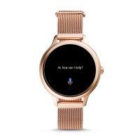 Fossil Smartwatch FTW6068 GEN 5E SMARTWATCH - ROSE GOLD Fossil Q sportowy zegarek różowe złoto