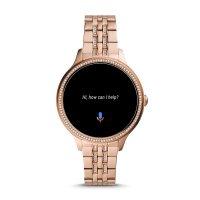 Fossil Smartwatch FTW6073 GEN 5E SMARTWATCH - ROSE GOLD Fossil Q sportowy zegarek różowe złoto