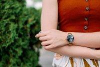 Garett 5903246282832 Smartwatch Garett Women Lisa złoty stalowy Damskie sportowy zegarek różowe złoto