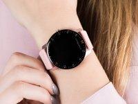 Garett 5903246286526 Damskie Smartwatch Garett Lady Lira różowy zegarek damski sportowy z tworzywa sztucznego