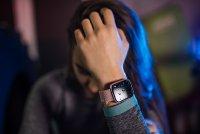 Garett 5903246287110 Smartwatch Garett Women Eva RT różowy Damskie sportowy zegarek różowe złoto