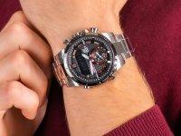 zegarek Edifice ECB-800DB-1AEF srebrny EDIFICE Premium