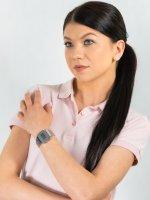 sportowy Zegarek srebrny Casio VINTAGE Maxi A168WEM-7EF MIRROR FACE - duże 4