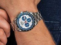 sportowy Zegarek srebrny Lorus Sportowe RT331HX9 - duże 6