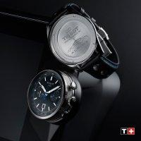 Tissot T123.427.16.051.00 ALPINE ON BOARD AUTOMATIC CHRONOGRAPH Alpine sportowy zegarek srebrny