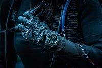 Traser TS-109376 P67 SuperSub Black Special Set P67 SuperSub sportowy zegarek srebrny