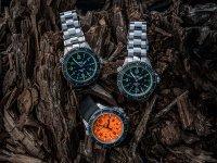 Traser TS-109378 P67 SuperSub Black P67 SuperSub sportowy zegarek srebrny