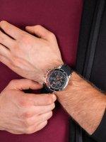 sportowy Zegarek srebrny Vostok Europe Anchar 6S30-5105201 Anchar Chrono - duże 5