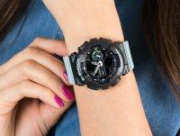 sportowy Zegarek szary Casio G-SHOCK S-Series GMA-S140-2AER S-SERIES - duże 6