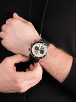 sportowy Zegarek szary Vostok Europe Lunokhod 6S21-620E277 Lunokhod-2 Chrono - duże 4